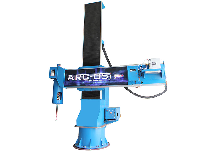 ARC-05i Rotating Head Cladding System