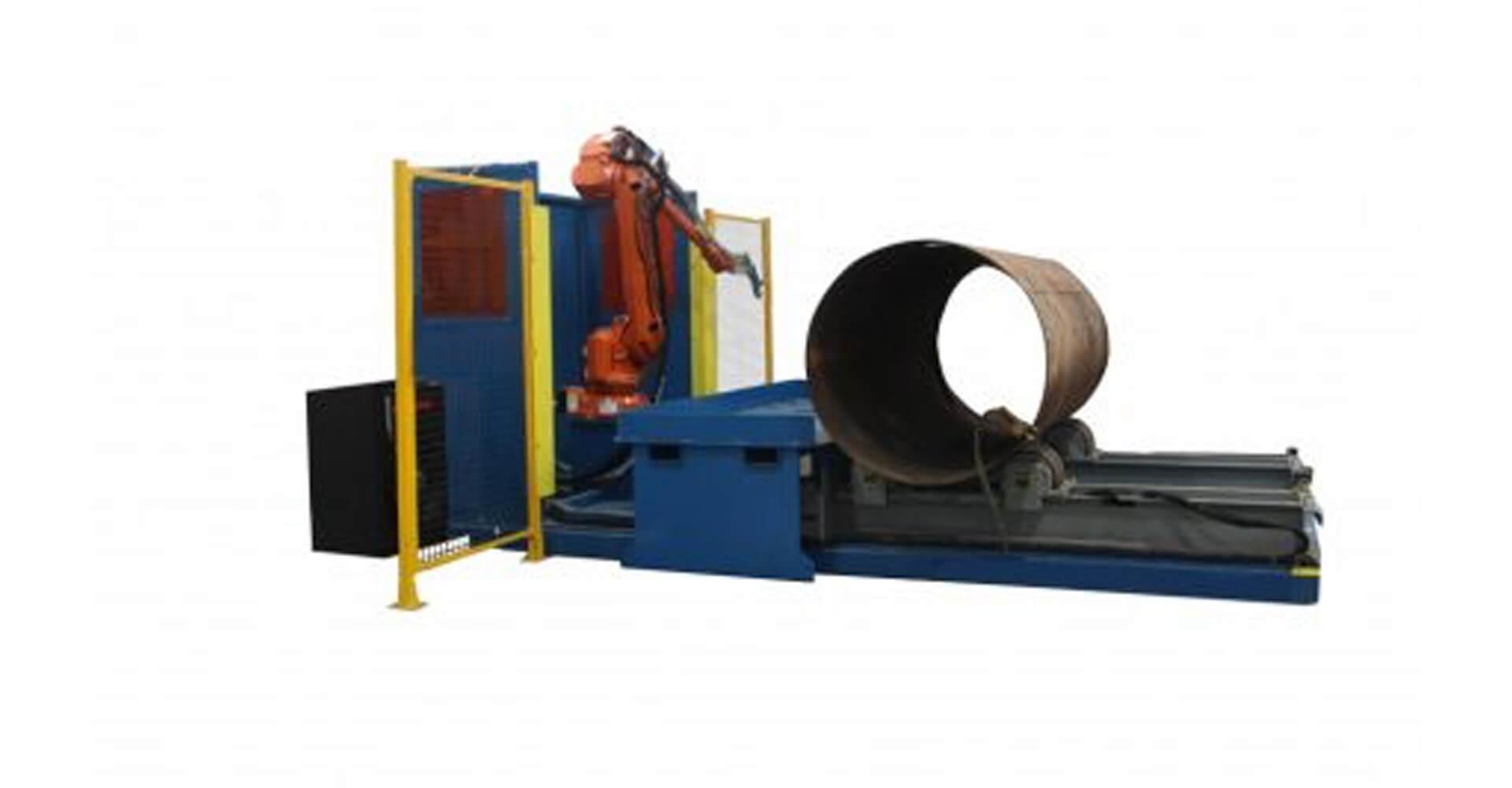 Robotic Large Pressure Vessel Cutting System
