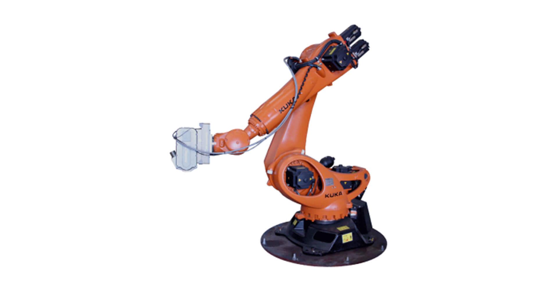Robotic Milling Demonstration