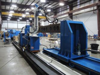 Large Frame Robotic GMAW System