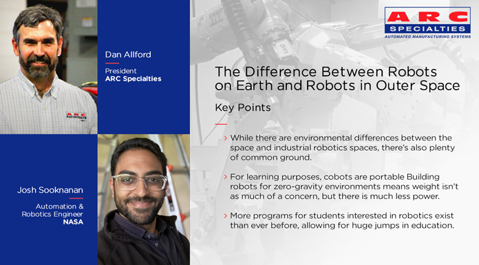 The Roboticist Chronicles: The Difference Between Robots on Earth and Robots in Outer Space