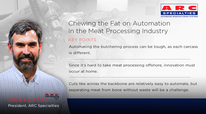 The Roboticist Chronicles: Chewing the Fat on Automation In the Meat Processing Industry