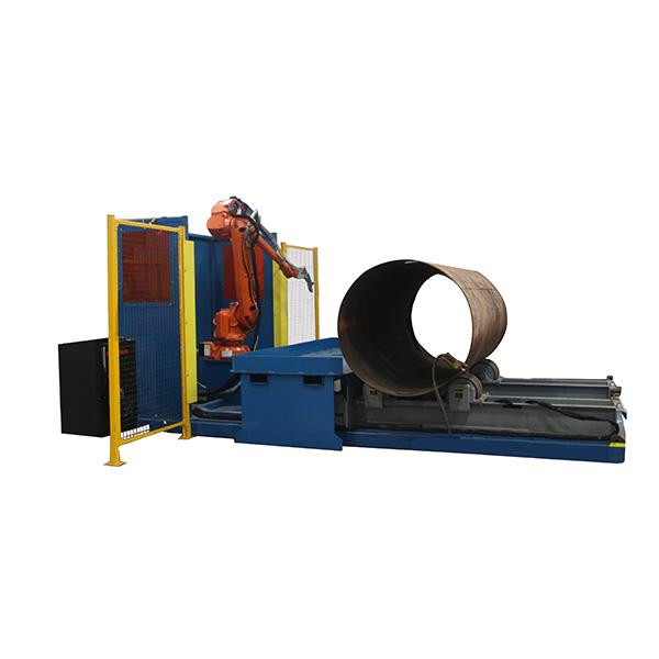 Robotic Large Pressure Vessel Plasma Cutting System