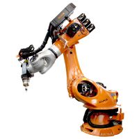 Robotic drill and tap machine kuka