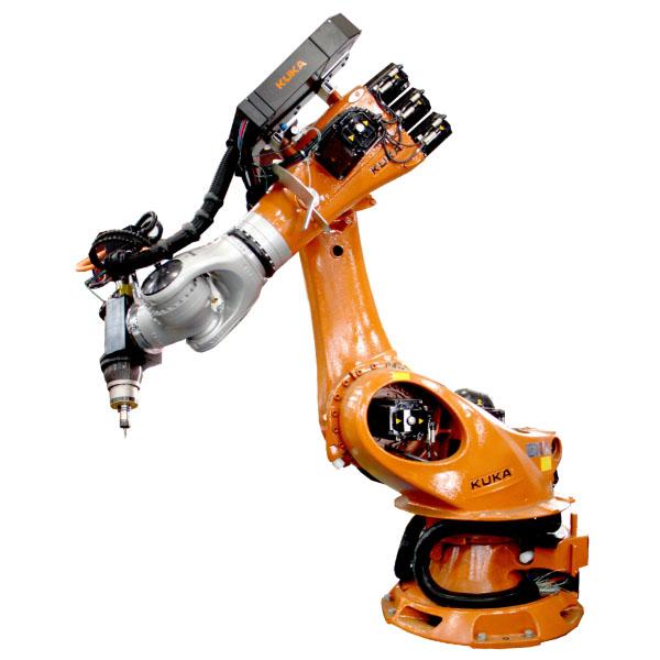 Robotic drill and tap machine kuka