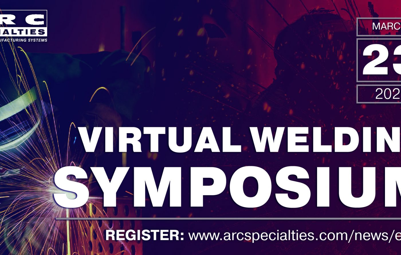 virtual welding symposium march 23, 2021
