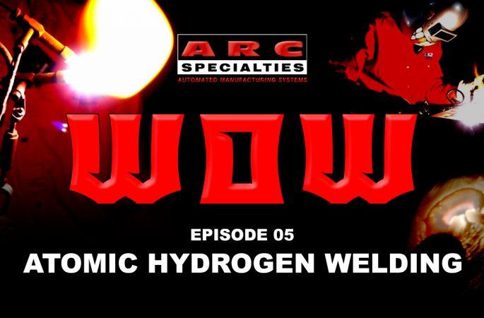 weld of the week atomic hydrogen welding