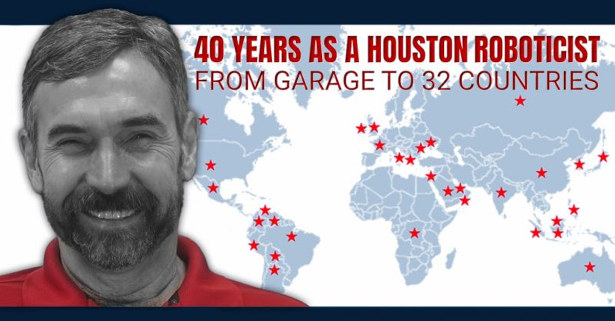 40 Years as a Houston Roboticist