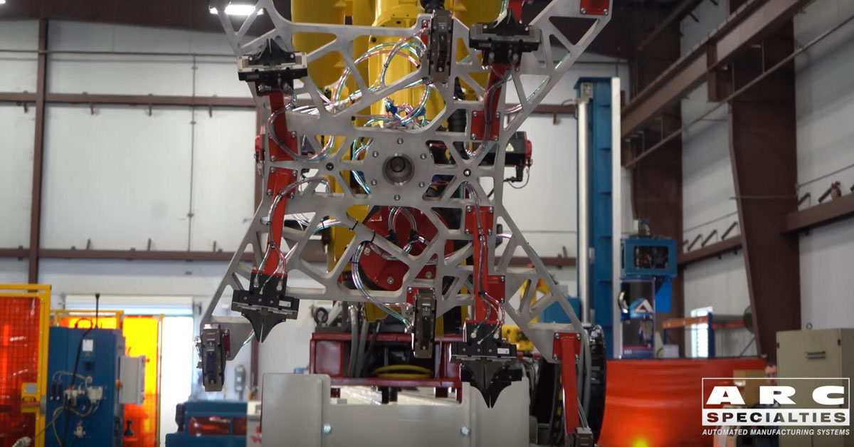 ARC Specialties robot travel units rtus fanuc